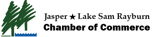 Jasper Lake Sam Rayburn Chamber of Commerce Logo